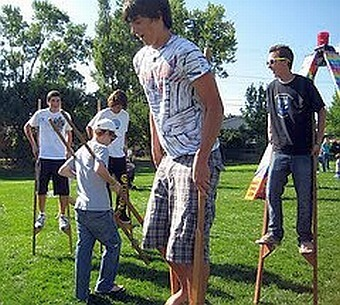 Broomfield Stilt Party