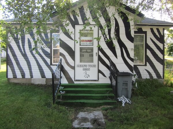 The Zebra House