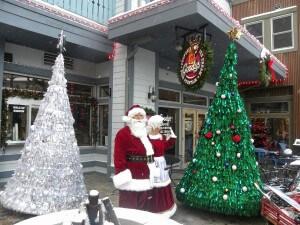 You bring Santa, we'll bring the Dancing Christmas Trees!