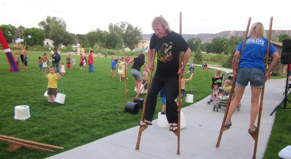 Stilt Party and bubbles - entertainment and engagement for all ages!