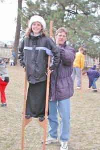 Getting your stilt legs