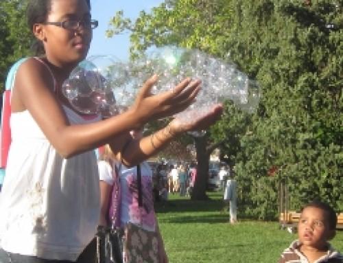 Greeley Oktoberfest Bubble Tower