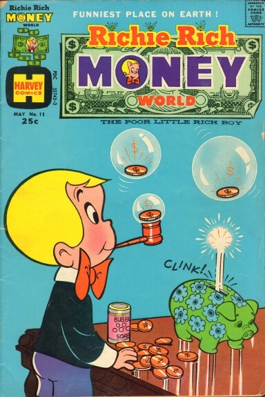 Harvey Comics, May 1974
