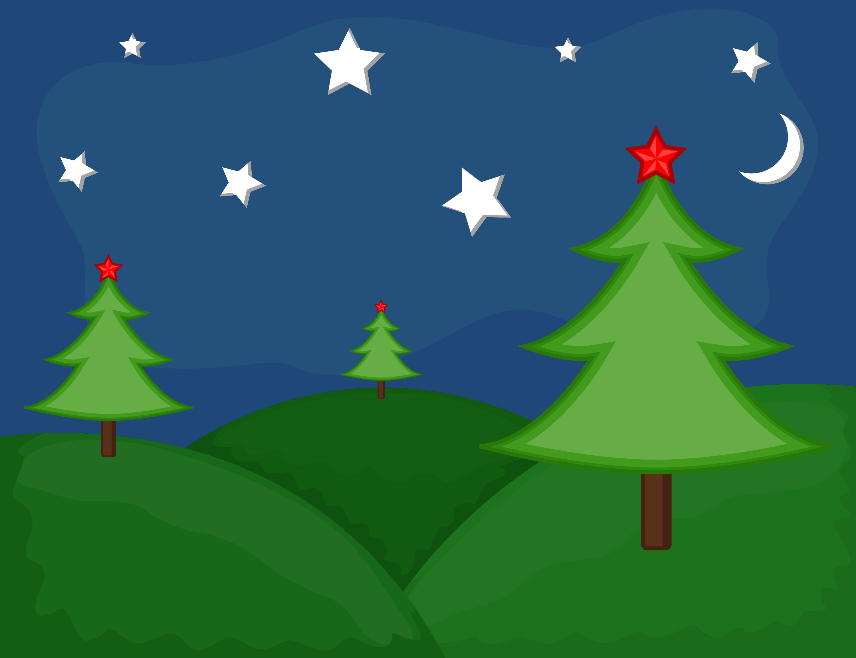 ChristmasTrees and Stars