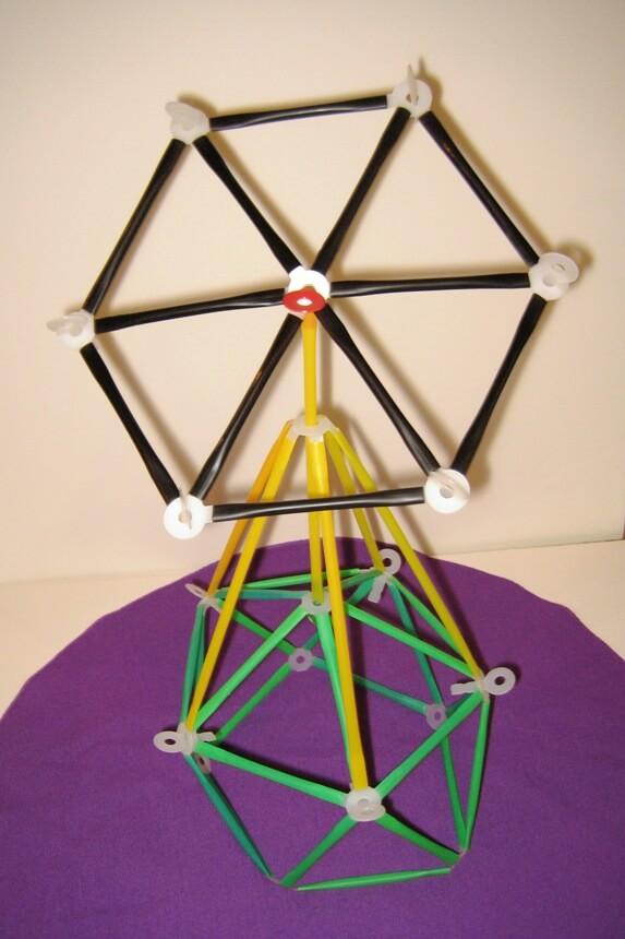 Hexagon on Tower.