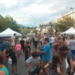 Urban Stilt Party at Golden, Colorado
