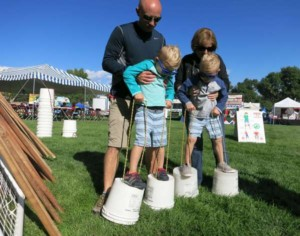 Broomfield Days 2016 - Family Time on Bucket Stilts