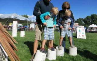 Broomfield Days 2016 - Family Time on Bucket Stilts
