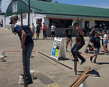 Dubuque County Fair and Stilts 2018