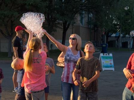 Bubbles and Kids